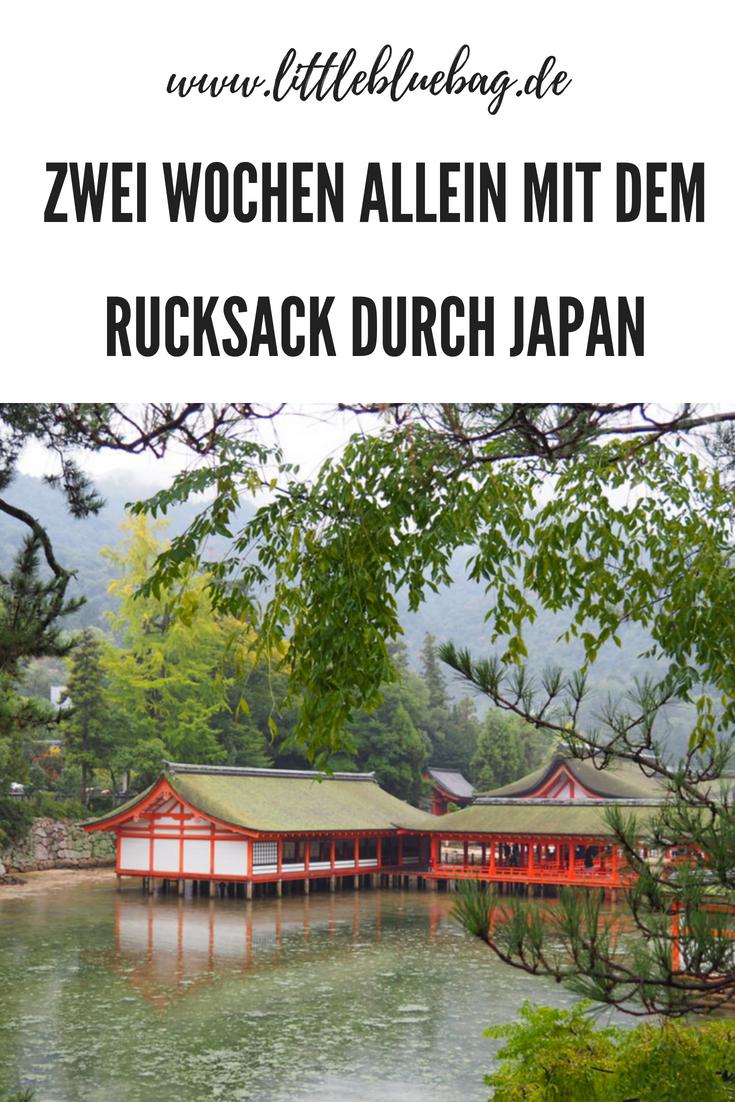 Zwei Wochen allein mit dem Rucksack durch Japan
