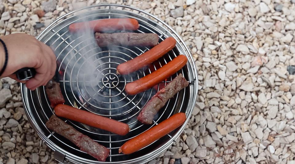 Feuerdesign grill