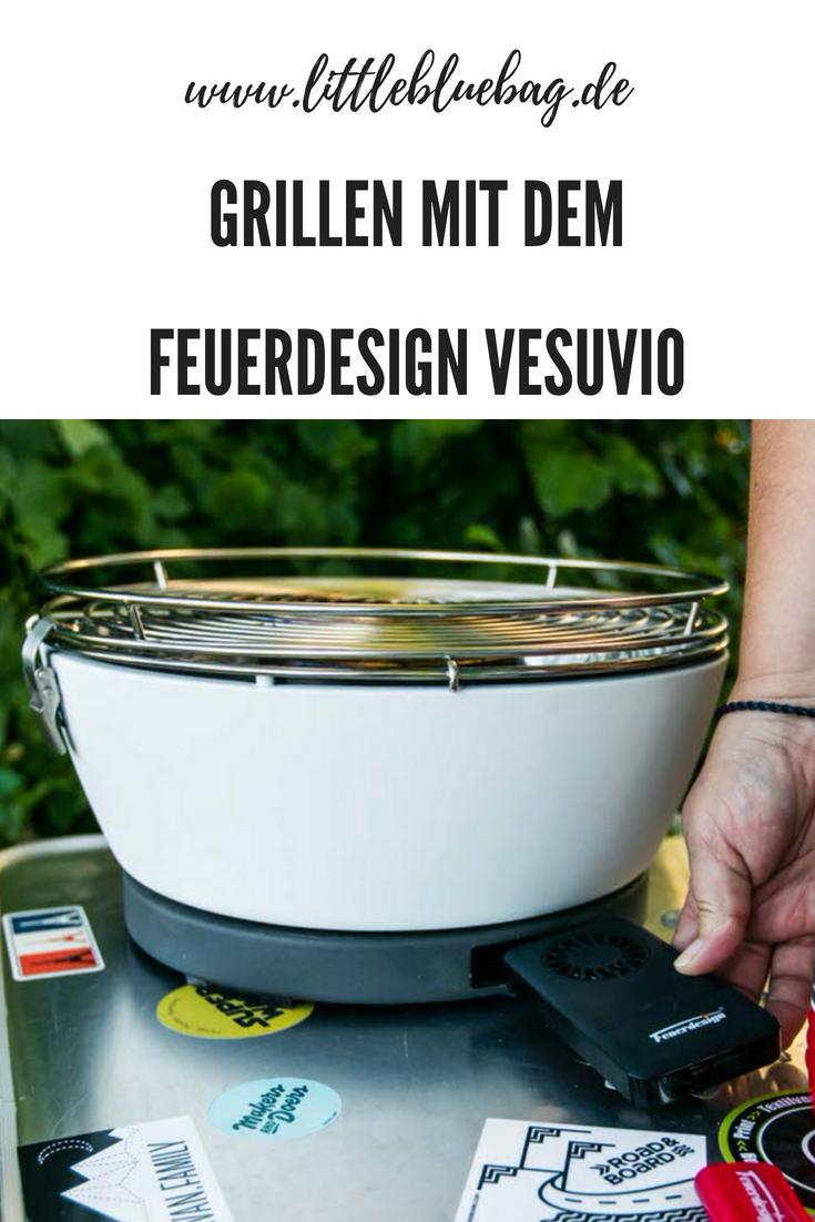 Grillen mit dem Feuerdesign vesuvio Tischgrill.png