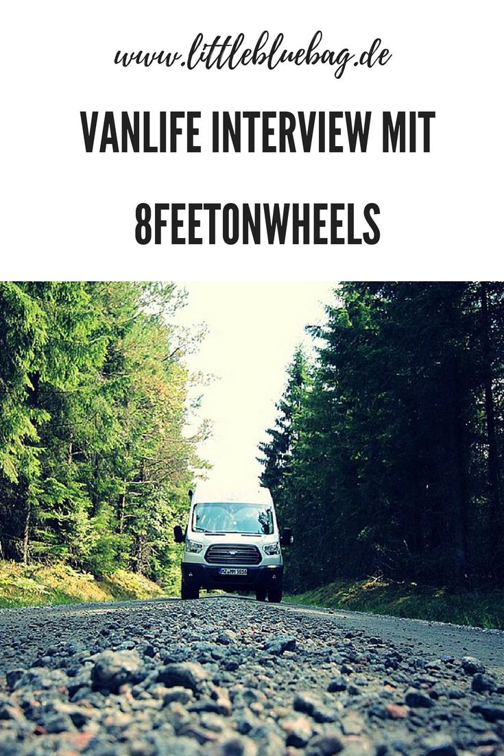 Vanlife Interview mit 8feetonwheels