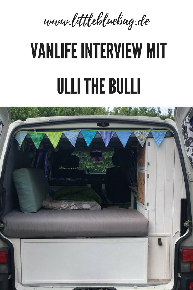 Vanlife Interview mit Ullithebulli