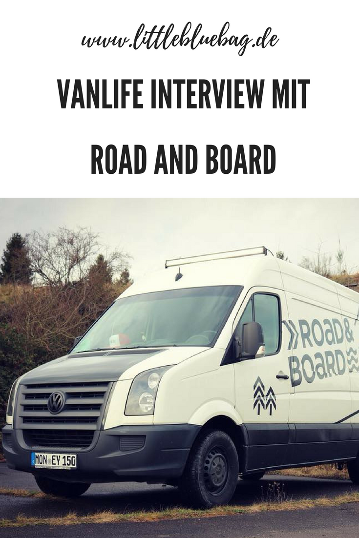 Vanlife Interview mit Road and Board