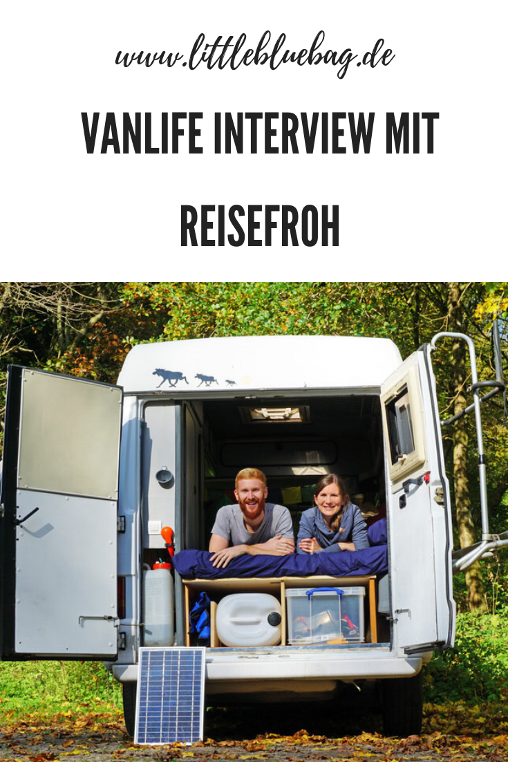 Vanlifer Interview mit Reisefroh