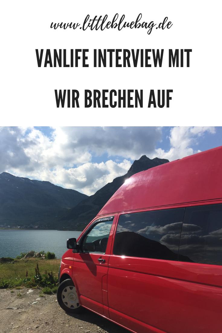 Vanlife Interview mit wirbrechenauf