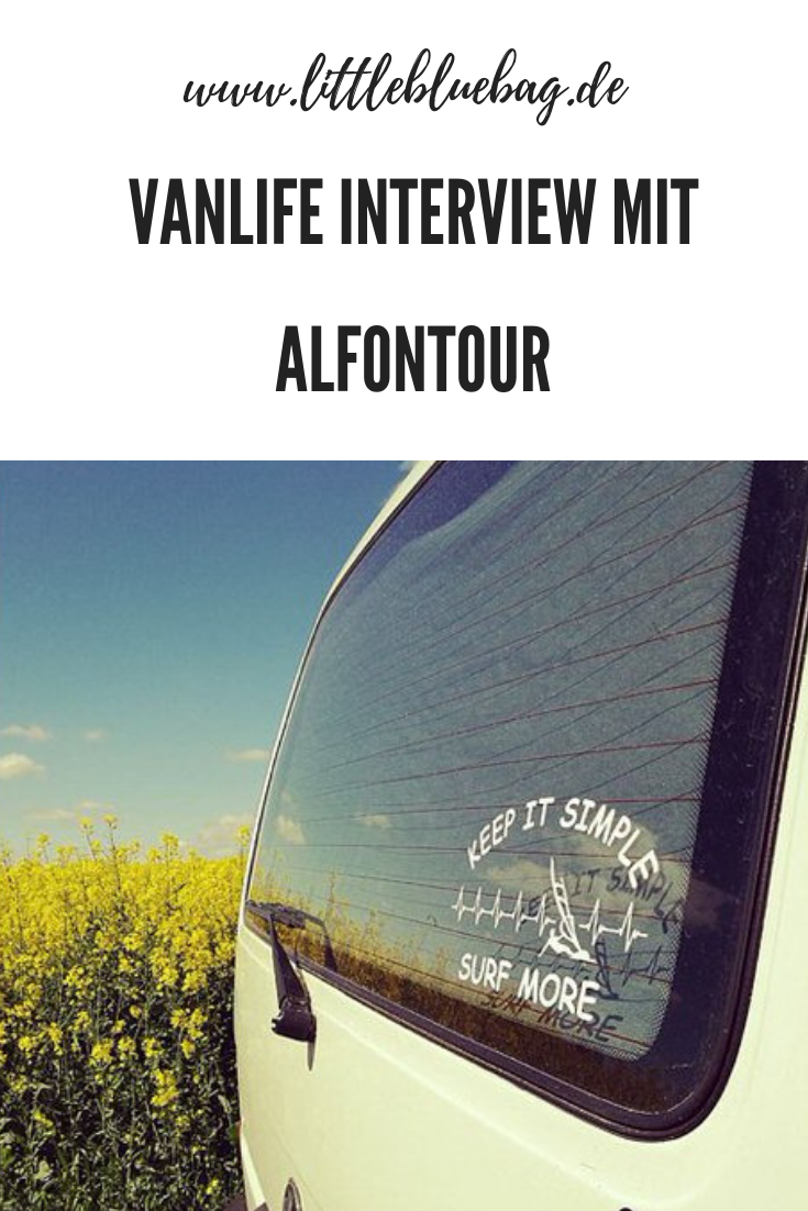 Vanlifer Interview mit alfontour