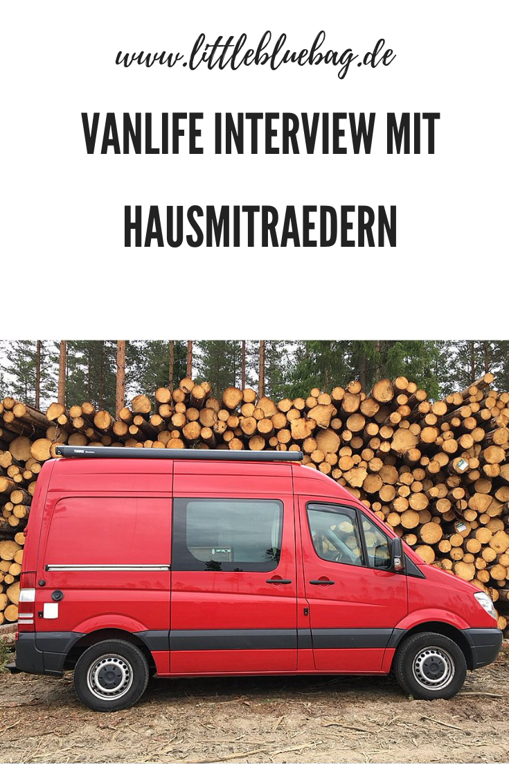 Vanlife Interview mit hausmitraedern