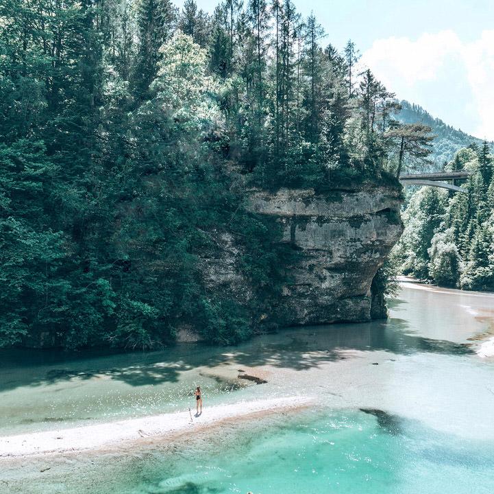Klauser See Blaue Lagune