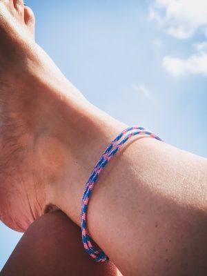 Surfer Bracelet pink blue