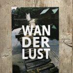 LittleBlueBag Postkarte 09 WANDERLUST