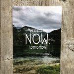 LittleBlueBag Postkarte 13 yesterday NOW tomorrow