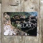 LittleBlueBag Postkarte 19 time to RELAX