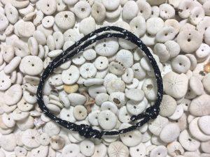 Surfer Bracelet Black Silver