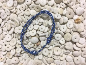 Surfer Bracelet Blue Black White