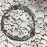 Surfer Bracelet Blue Rainbow