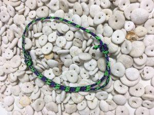 Surfer Bracelet Green Violet