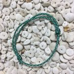 Surfer Bracelet Mint Blue