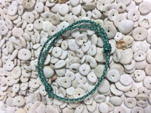 Surfer Bracelet Mint Blue