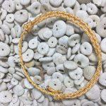 Surfer Bracelet Yellow White