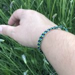 Surfer Bracelet black green blue-1