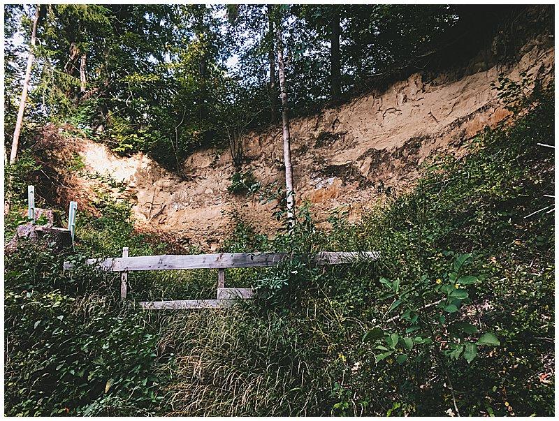 Gesteinsschichten Kraichgau Infotafel Geopfad