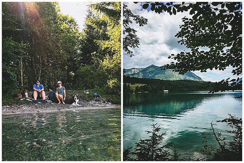 Baden und Schwimmen Walchensee
