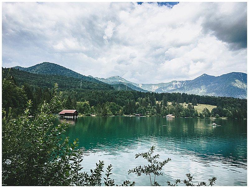 Walchensee Bergsee Bayern