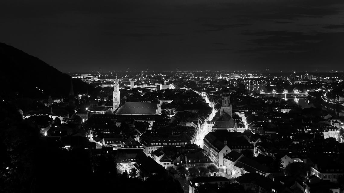 Nachtfotografie Heidelberg