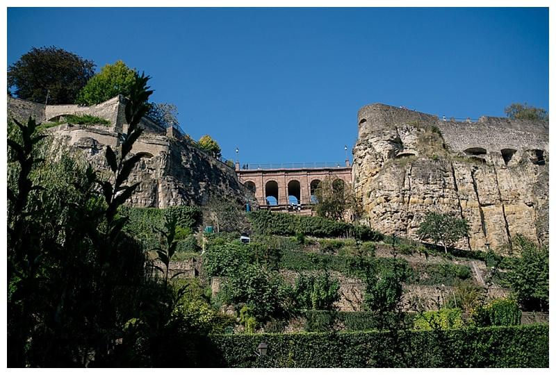 Stadtmauer Luxemburg