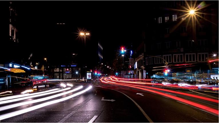 Luxemburg bei Nacht Fotoreiseblog